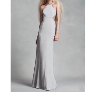 Vera Wang gray/silver bridesmaid dress size 10